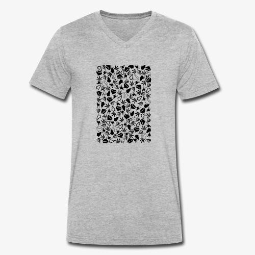 Clichés ardechois - T-shirt bio col V Stanley & Stella Homme
