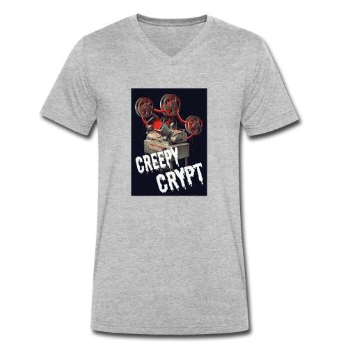 Creepy Crypt - Männer Bio-T-Shirt mit V-Ausschnitt von Stanley & Stella