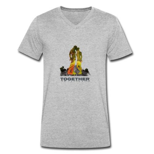 Together - T-shirt bio col V Stanley & Stella Homme