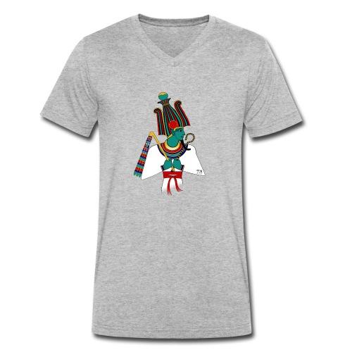 ÄGYPTEN - Osiris - altägyptische Gottheit - Männer Bio-T-Shirt mit V-Ausschnitt von Stanley & Stella