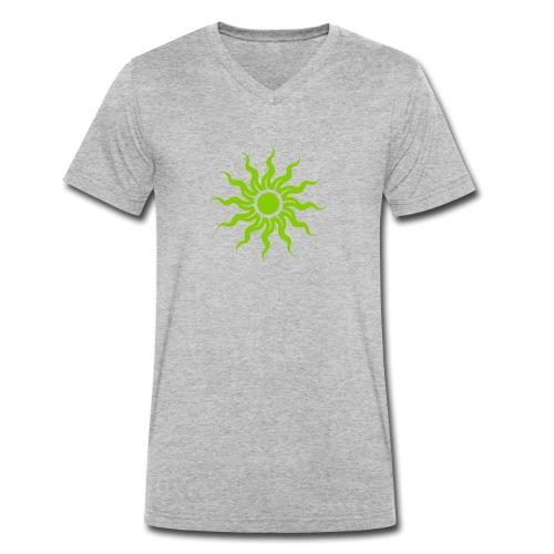 The Sun - Männer Bio-T-Shirt mit V-Ausschnitt von Stanley & Stella