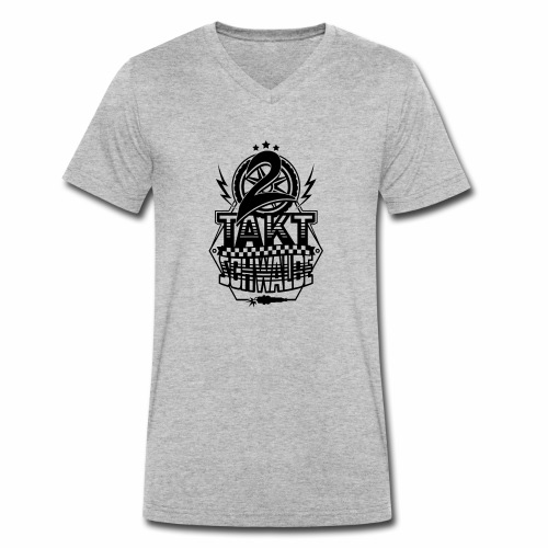 2-Takt-Schwalbe / Zweitaktschwalbe - Men's Organic V-Neck T-Shirt by Stanley & Stella