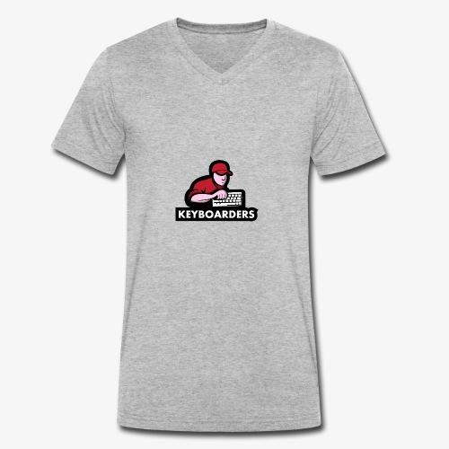 The Keyboarders - Økologisk Stanley & Stella T-shirt med V-udskæring til herrer