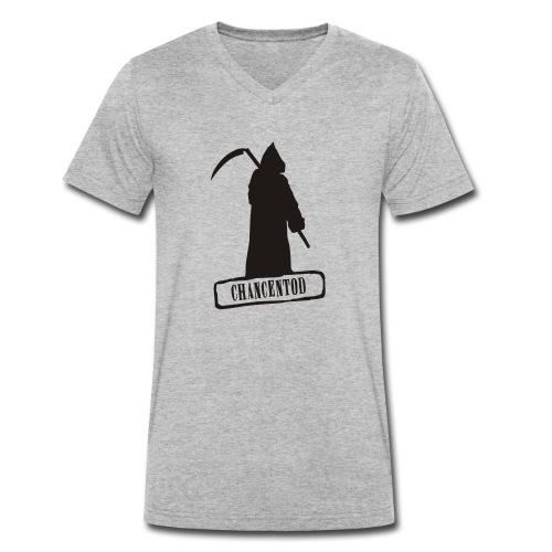 Chancentod - Männer Bio-T-Shirt mit V-Ausschnitt von Stanley & Stella