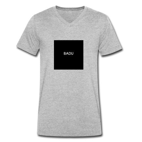 BADU - T-shirt ecologica da uomo con scollo a V di Stanley & Stella