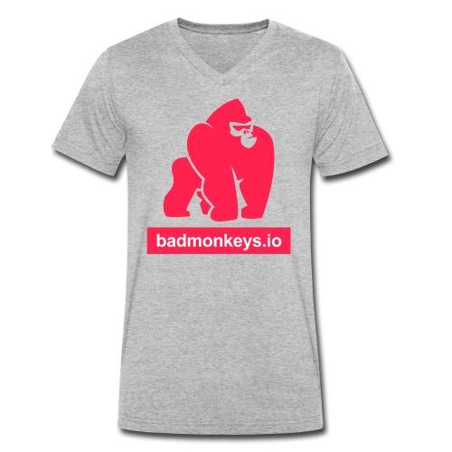 Go full ape on us - our your friends - Männer Bio-T-Shirt mit V-Ausschnitt von Stanley & Stella
