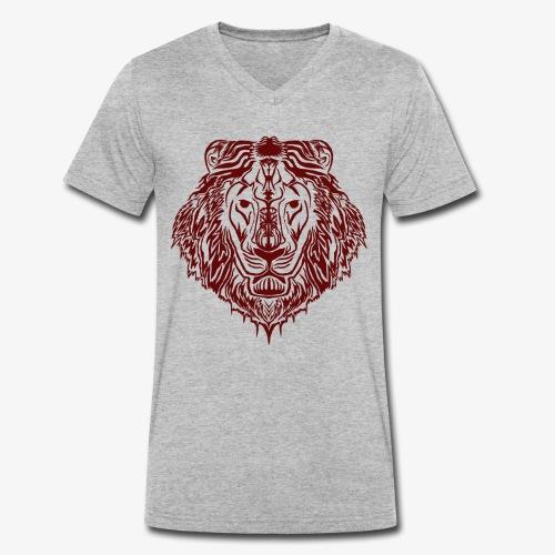 LION KING - Männer Bio-T-Shirt mit V-Ausschnitt von Stanley & Stella