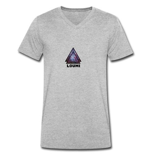 galaxy LOUMI series - Mannen bio T-shirt met V-hals van Stanley & Stella