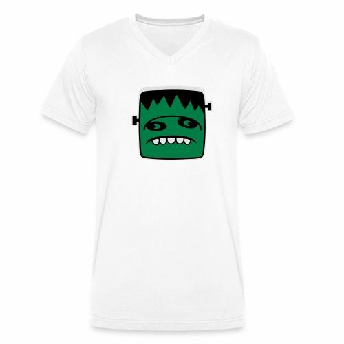 Fonster pur weißer Rand - Männer Bio-T-Shirt mit V-Ausschnitt von Stanley & Stella