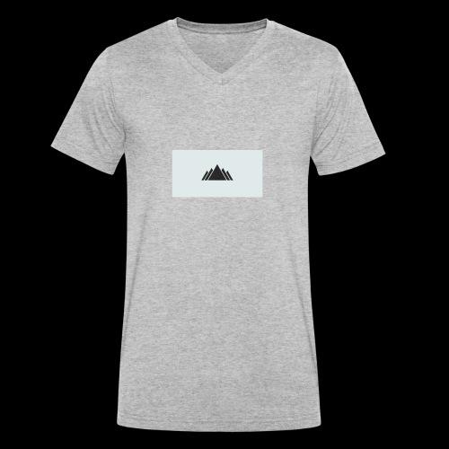 montain - Camiseta ecológica hombre con cuello de pico de Stanley & Stella