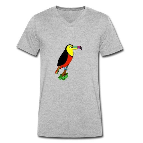Le toucan - T-shirt bio col V Stanley & Stella Homme