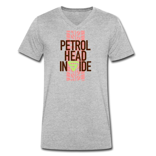 Petrolhead inside - T-shirt bio col V Stanley & Stella Homme