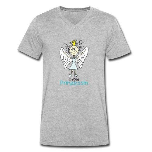 Engel Prinzessin - Männer Bio-T-Shirt mit V-Ausschnitt von Stanley & Stella