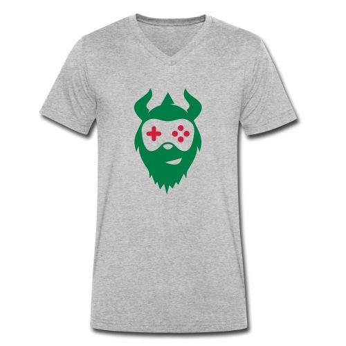 DGTallShirt - Männer Bio-T-Shirt mit V-Ausschnitt von Stanley & Stella