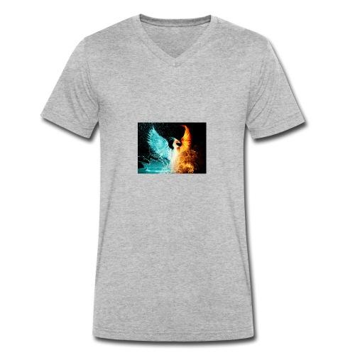 Elemental phoenix - Men's Organic V-Neck T-Shirt by Stanley & Stella