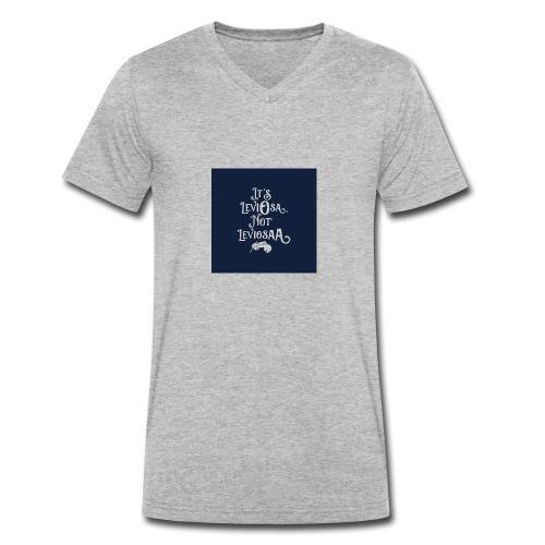 Wtf HP - Økologisk T-skjorte med V-hals for menn fra Stanley & Stella