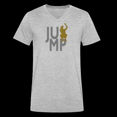 JUMP - Männer Bio-T-Shirt mit V-Ausschnitt von Stanley & Stella