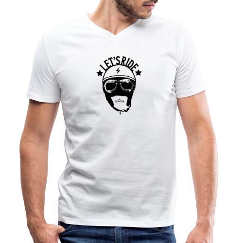 Let's Ride - T-shirt bio col V Stanley & Stella Homme