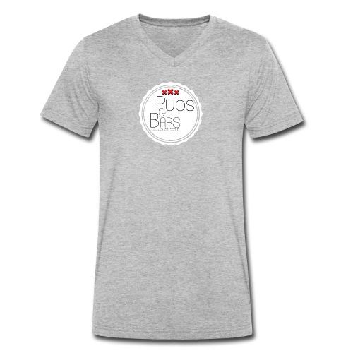 PubsnBars - Mannen bio T-shirt met V-hals van Stanley & Stella