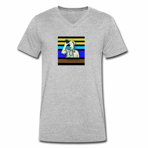 NSB Stefan 53 - Männer Bio-T-Shirt mit V-Ausschnitt von Stanley & Stella