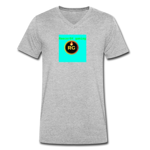 the newest merch - Men's Organic V-Neck T-Shirt by Stanley & Stella