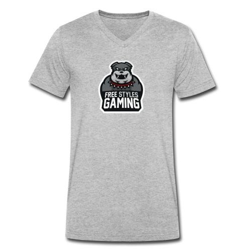 Freestylesgaming - T-shirt bio col V Stanley & Stella Homme