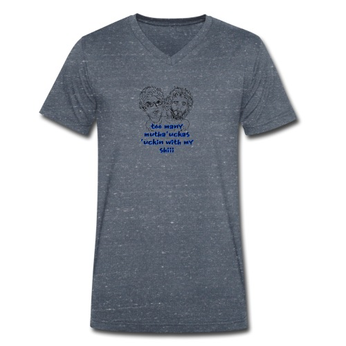 Mutha Ucka Flight of the Conchords - Men's Organic V-Neck T-Shirt by Stanley & Stella