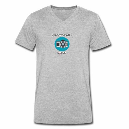 Photography Lover - T-shirt ecologica da uomo con scollo a V di Stanley & Stella