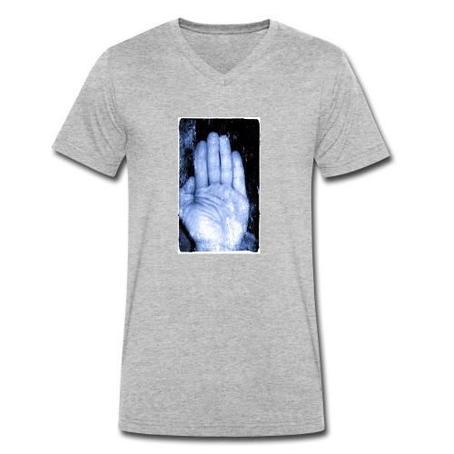 hand - Ekologiczna koszulka męska z dekoltem w serek Stanley & Stella