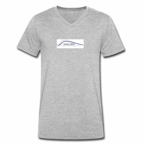 ESSAIS LIBRES - T-shirt bio col V Stanley & Stella Homme