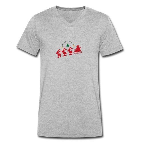 Weihnachen - Männer Bio-T-Shirt mit V-Ausschnitt von Stanley & Stella