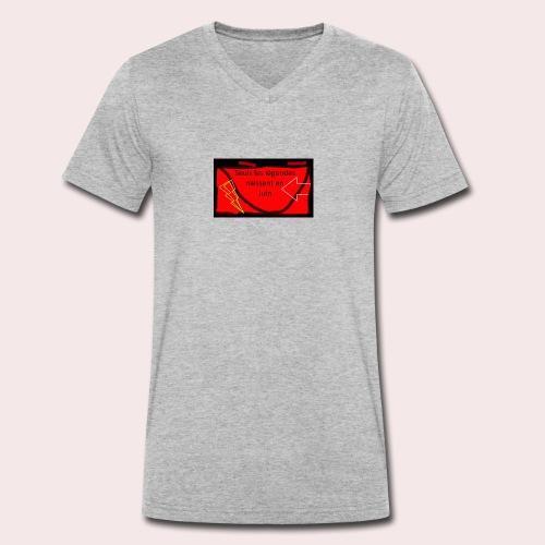 Légendes - T-shirt bio col V Stanley & Stella Homme