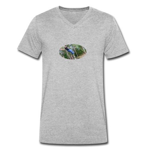 woods - Ekologisk T-shirt med V-ringning herr från Stanley & Stella