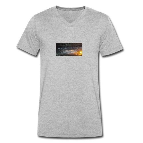 BIEBER - Männer Bio-T-Shirt mit V-Ausschnitt von Stanley & Stella