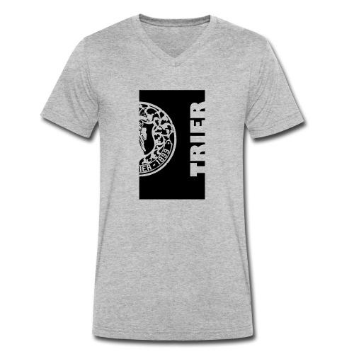 deckel trier halb - Männer Bio-T-Shirt mit V-Ausschnitt von Stanley & Stella