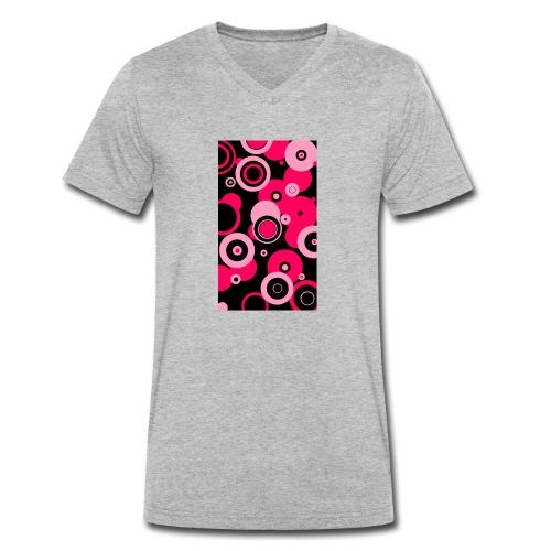 Dream in pink - Männer Bio-T-Shirt mit V-Ausschnitt von Stanley & Stella