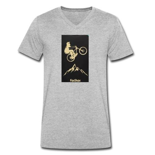 FoxShox - Männer Bio-T-Shirt mit V-Ausschnitt von Stanley & Stella
