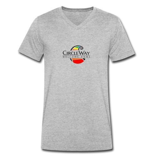 Circleway Welcome Home Logo - schwarz - Männer Bio-T-Shirt mit V-Ausschnitt von Stanley & Stella