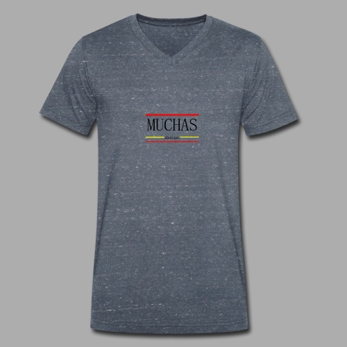 MUCHAS GRACIAS - Trend Eddition - Men's Organic V-Neck T-Shirt by Stanley & Stella