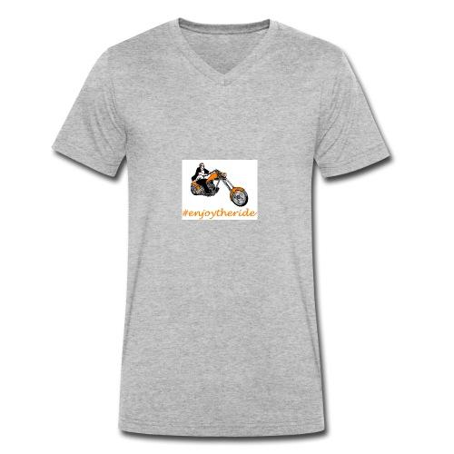 enjoytheride - T-shirt bio col V Stanley & Stella Homme