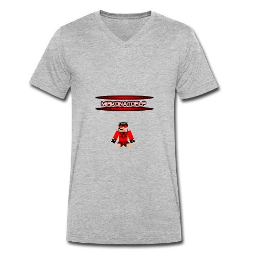 Mirkonator Skin png - Männer Bio-T-Shirt mit V-Ausschnitt von Stanley & Stella