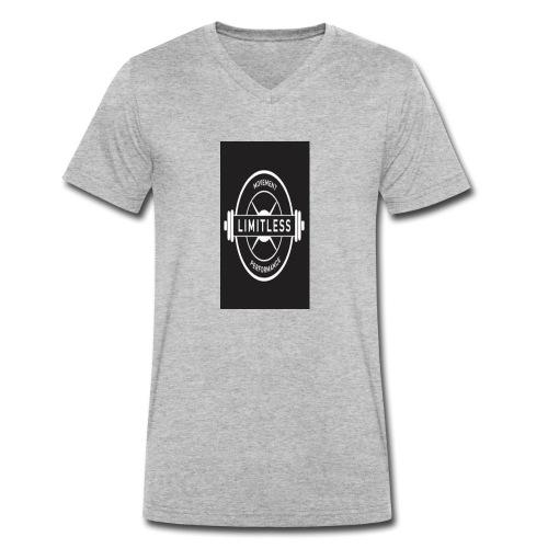 Limitless Energy - Men's Organic V-Neck T-Shirt by Stanley & Stella