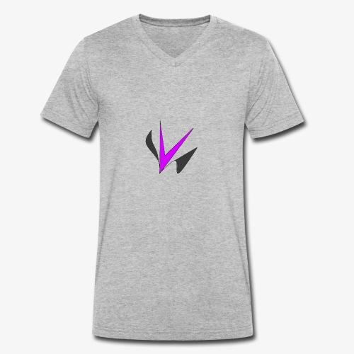 Vinper Logo Rose/Noir - T-shirt bio col V Stanley & Stella Homme