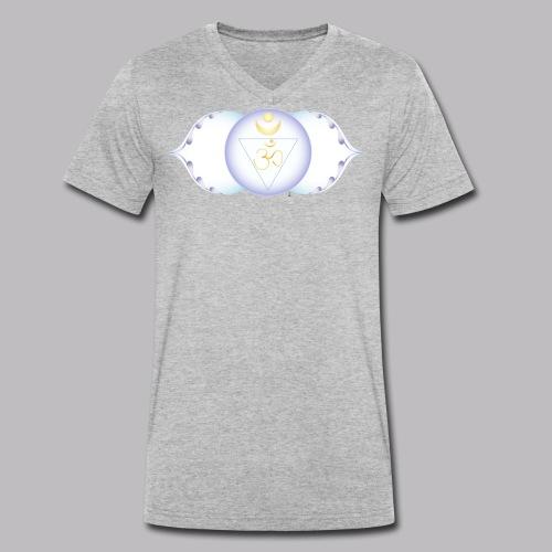 ajna chakra - T-shirt ecologica da uomo con scollo a V di Stanley & Stella