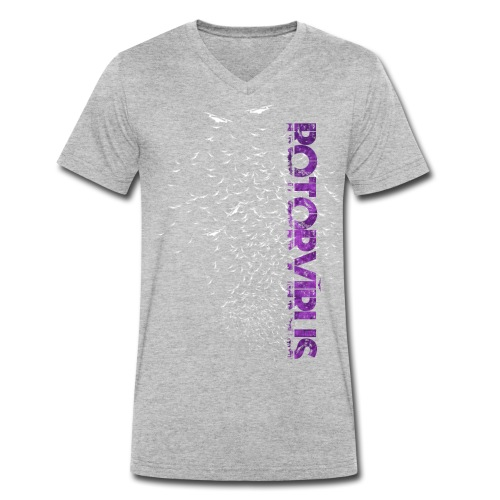 RotorVirus - Men's Organic V-Neck T-Shirt by Stanley & Stella
