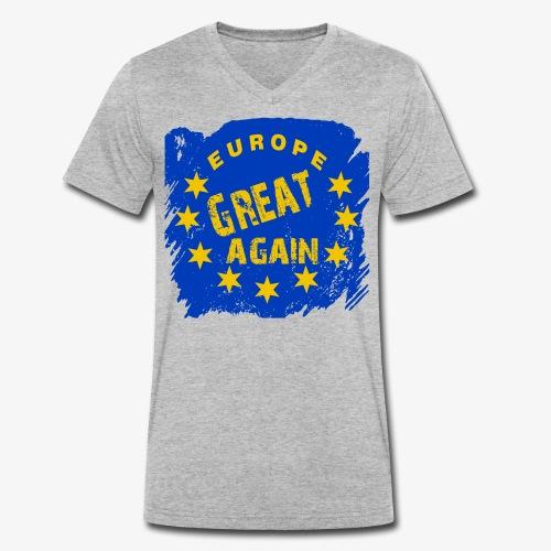Europe Great again - Männer Bio-T-Shirt mit V-Ausschnitt von Stanley & Stella