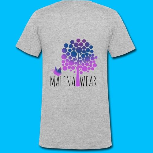 Malena Wear - Männer Bio-T-Shirt mit V-Ausschnitt von Stanley & Stella