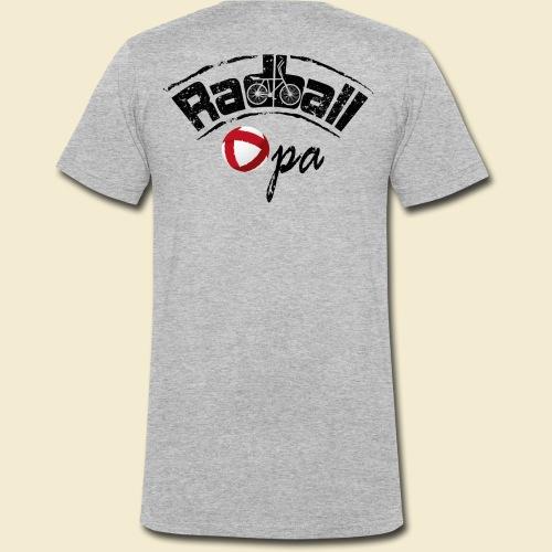 Radball | Opa - Männer Bio-T-Shirt mit V-Ausschnitt von Stanley & Stella