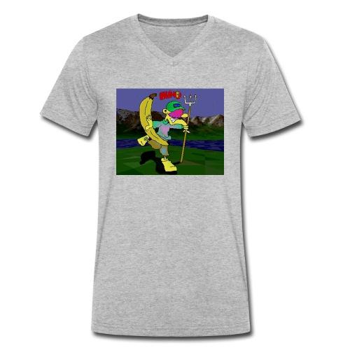 Bruno II - Økologisk T-skjorte med V-hals for menn fra Stanley & Stella
