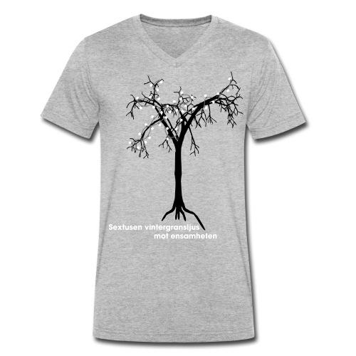 ensamheten - Ekologisk T-shirt med V-ringning herr från Stanley & Stella